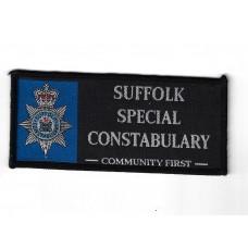 Suffolk Special Constabulary Cloth Uniform Patch Badge