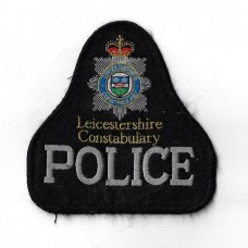 Leicestershire Constabulary Police Cloth Pullover Patch Badge