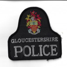 Gloucestershire Police Cloth Pullover Patch Badge