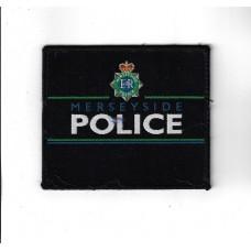 Merseyside Police Cloth Uniform Patch Badge