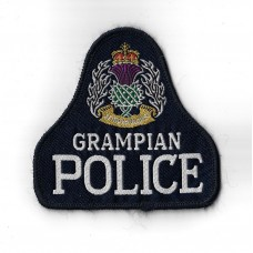 Grampian Police Cloth Pullover Patch Badge