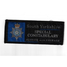 South Yorkshire Police Special Constabulary Cloth Uniform Patch Badge