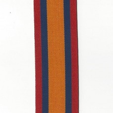 Queen's Mediterranean Medal Ribbon (Boer War) – Full Size