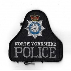 North Yorkshire Police Cloth Pullover Patch Badge