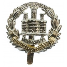 Northamptonshire Regiment Anodised (Staybrite) Cap Badge
