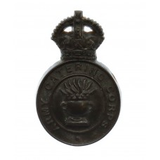 Army Catering Corps  WW2 Plastic Economy Cap Badge