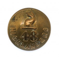 48th Highlanders of Canada Officer's Button (26mm)