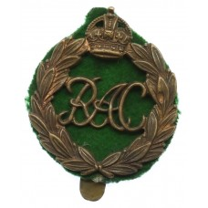 Royal Armoured Corps (R.A.C.) Cap Badge - King's Crown (1st Pattern)