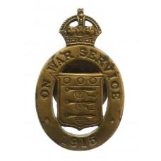 WW1 1915 On War Service Lapel Badge