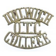 Dulwich College O.T.C. (DULWICH/O.T.C./COLLEGE) Shoulder Title
