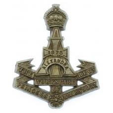 Yorkshire Regiment (Green Howards) WW2 Plastic Economy Cap Badge