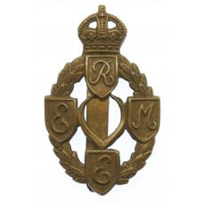 Royal Electrical & Mechanical Engineers (R.E.M.E.) Cap Badge - King's Crown