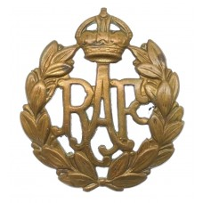 Royal Air Force (R.A.F.) Cap Badge - King's Crown