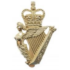 Ulster Defence Regiment (U.D.R.) Anodised (Staybrite) Cap Badge
