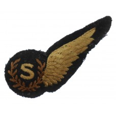 WW2 Royal Air Force (R.A.F.) Signallers Padded Aircrew Brevet