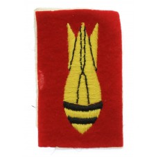 Bomb Disposal Royal Engineers Cloth Arm Badge