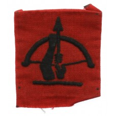 Anti-Aircraft Command Cloth Formation Sign (1st Pattern)