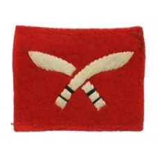 48th Gurkha Brigade Cloth Formation Sign