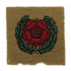 Lancastrian Training Brigade Cloth Formation Sign