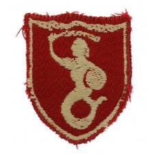 WW2 2nd Polish Corps Cloth Formation Sign