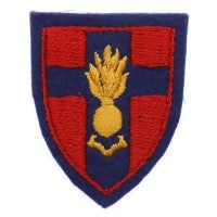Royal Engineers Training Establishment BAOR Cloth Formation Sign