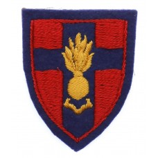 Royal Engineers Training Establishment BAOR Cloth Formation Sign