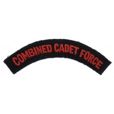 Combined Cadet Force (COMBINED CADET FORCE) Cloth Shoulder Title