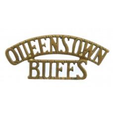 The Queen's Own Buffs, Royal Kent Regiment (QUEEN'S OWN/BUFFS) Shoulder Title