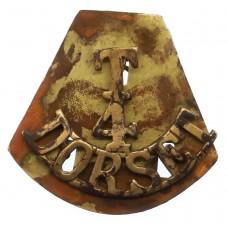 4th Territorial Bn. Dorsetshire Regiment (T/4/DORSET) Shoulder Ti