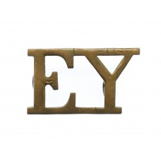 Essex Yeomanry (E.Y.) Shoulder Title
