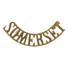 Somerset Light Infantry (SOMERSET) Shoulder Title