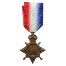 WW1 1914-15 Star - Pte. L. Riley, Army Service Corps