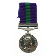 General Service Medal (Clasp - Canal Zone) - AC2. J. Jackson, Royal Air Force
