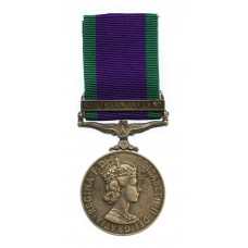 Campaign Service Medal (Clasp - Northern Ireland) - Pte. R.H. Smithwhite, Green Howards