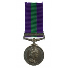 General Service Medal (Clasp - Malaya) - Sgt. M. Bewick, Royal En