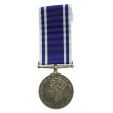 George VI Police Exemplary Long Service & Good Conduct Medal - Constable Donald McLeod
