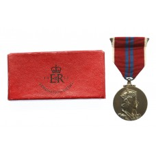 1953 Elizabeth II Coronation Medal in Box