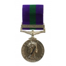 General Service Medal (Clasp - Canal Zone) - Gnr. I.G. Davies, Royal Artillery