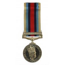 OSM Afghanistan Medal - Air Trooper J.J. Corbey, Army Air Corps