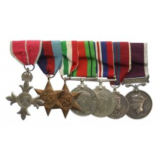 MBE, WW2, 1953 Coronation and LS&GC Medal Group of Seven - Captain G.J. Gillings, Royal Signals