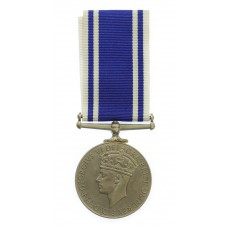 George VI Police Exemplary Long Service & Good Conduct Medal - Constable George Coates