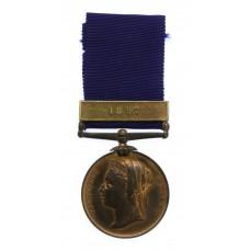 1887 Metropolitan Police Jubilee Medal (Clasp - 1897) - PC. J. Blake. 'W' Division (Clapham)