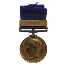 1887 Metropolitan Police Jubilee Medal (Clasp - 1897) - PC. A. Saward, 'A' Division (Whitehall)