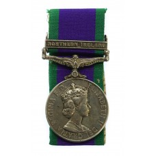 Campaign Service Medal (Clasp - Northern Ireland) - Gdsm. S.N. Ri