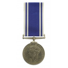 George VI Police Exemplary Long Service & Good Conduct Medal - Constable John Purves