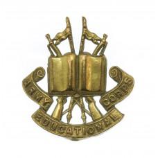 Army Educational Corps Collar Badge