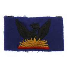 87th Army Group Royal Artillery (AGRA) Cloth Formation Sign (2nd Pattern)