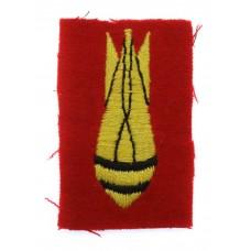 Bomb Disposal Royal Engineers Cloth Arm Badge