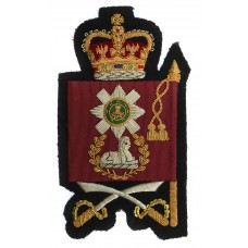 Scots Guards Colour Sergeants Arm Badge - Queen's Crown