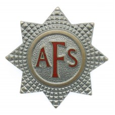 Auxiliary Fire Service (A.F.S.) Cap Badge